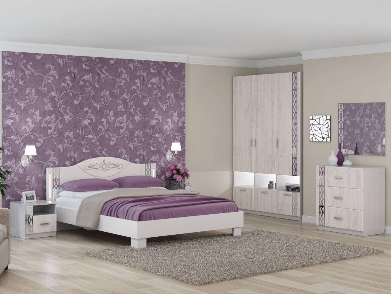 Спальня Белла Рамух белый. Комплект 2