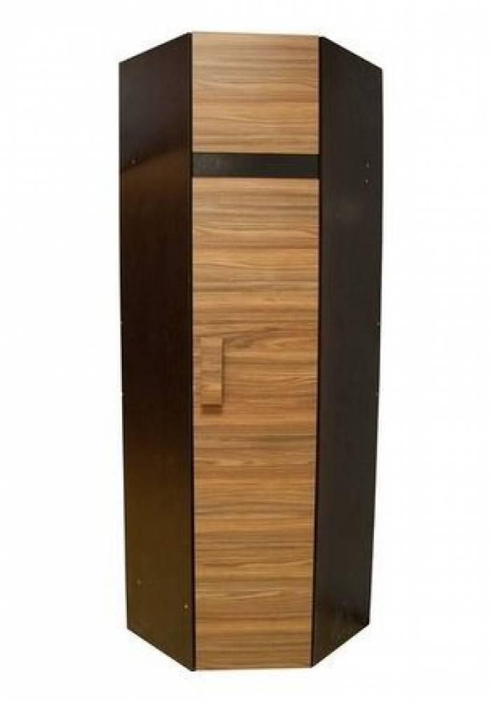 Шкаф угловой 1. Фасад Палисандр (правый) Hyper