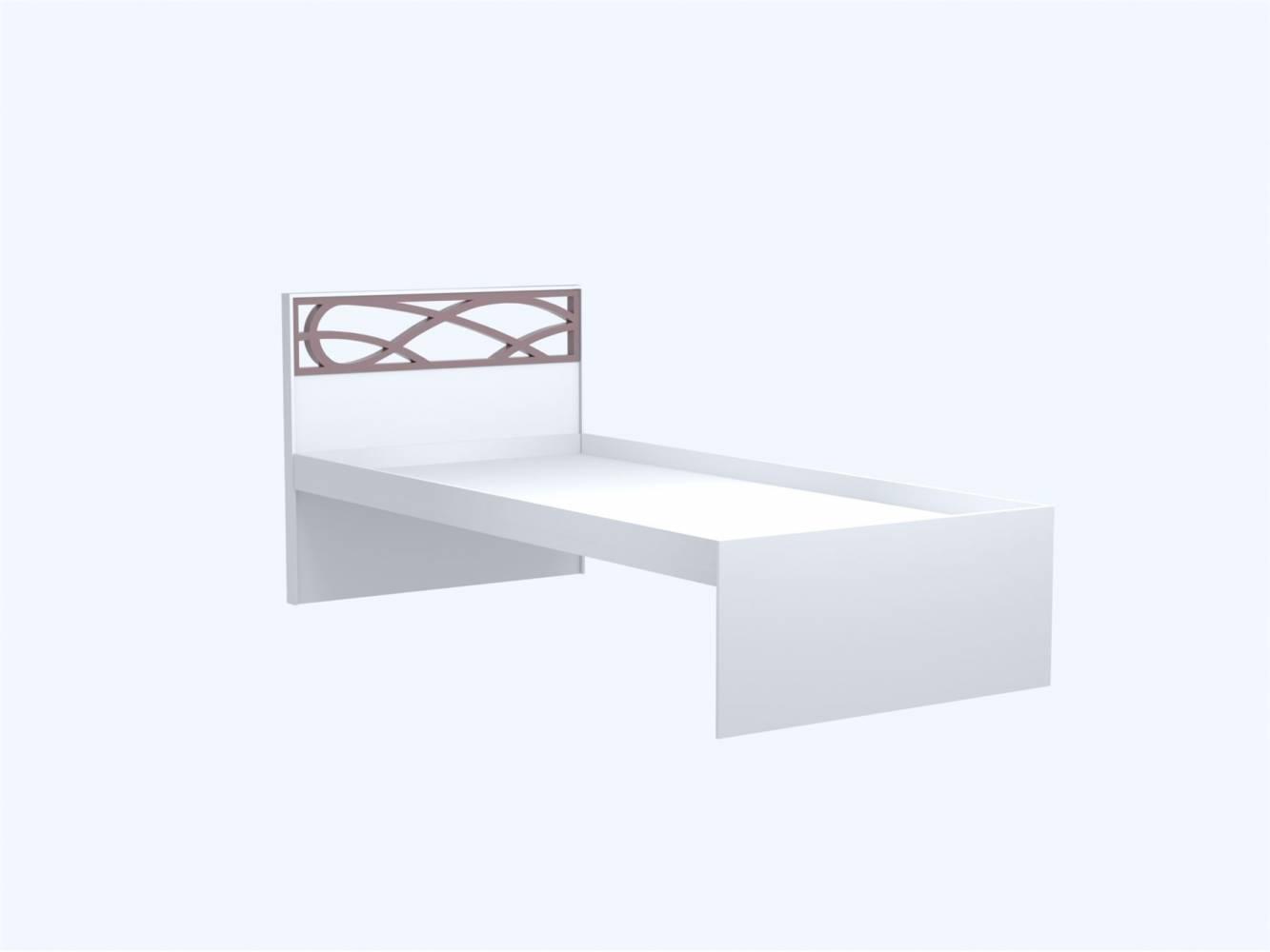 Саманта СМ3 Кровать с основанием 900 (Дуб Седан), б/матраса