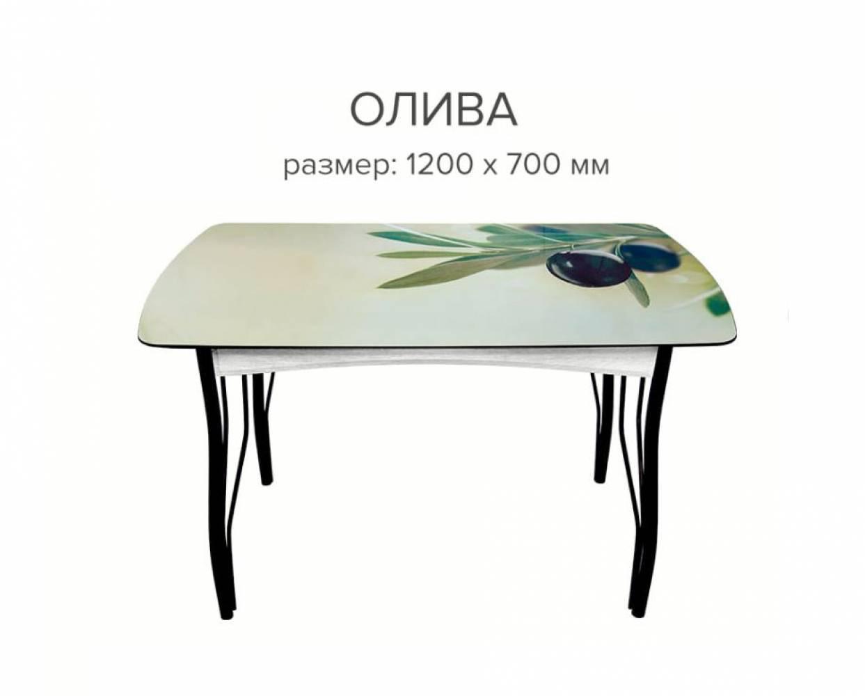 Стол обеденный Олива (1200х680х22)