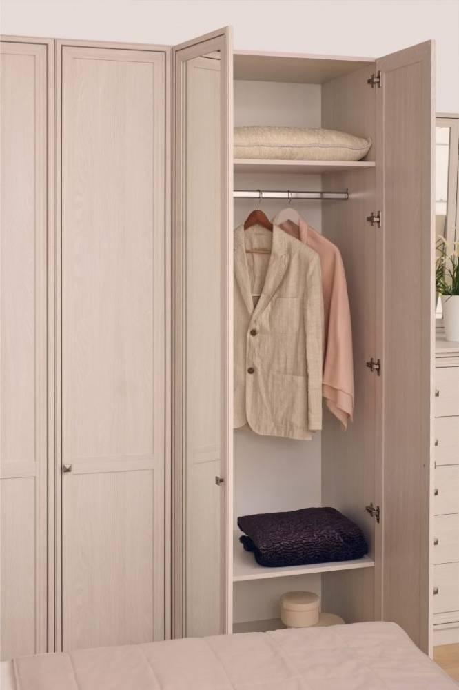 Paola 54 Патина Шкаф для одежды + ФАСАД Стандарт Левый + Зеркало Правый