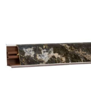 Вставка в плинтус (кромка с клеем)  (Мраморный берег) 3м