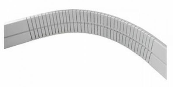 Цоколь арочный универсальный (1000*100 мм) белый