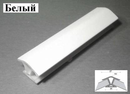 Угол соединительный 135 градусов белый