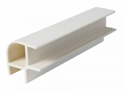 Угол соединительный 90 градусов (двухсторонний) белый