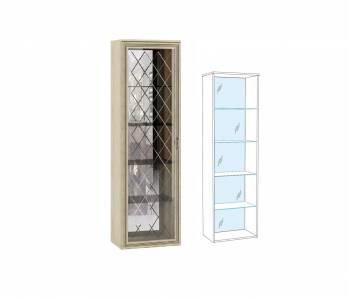 ЛШ-8 Пенал-витрина (надставной) Ливорно, Сонома