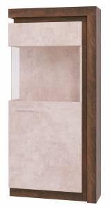 Люмен Шкаф-витрина № 1 (Лагос)