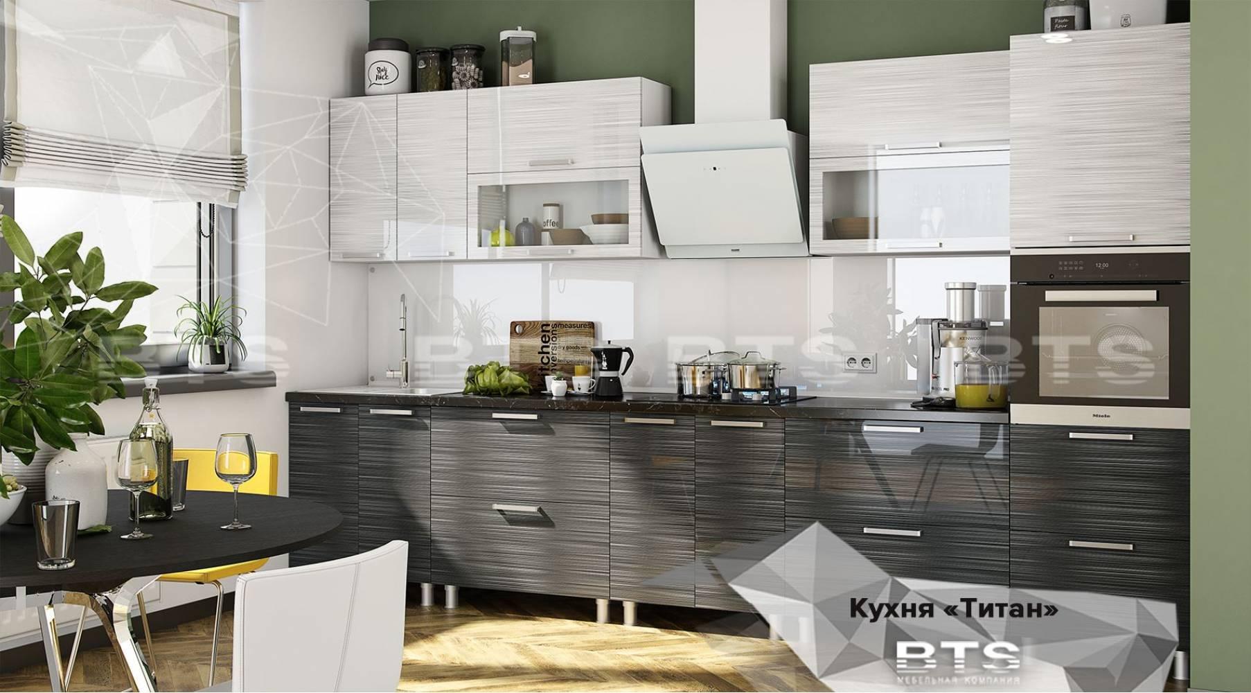 Кухонный гарнитур Титан. Вариант 1