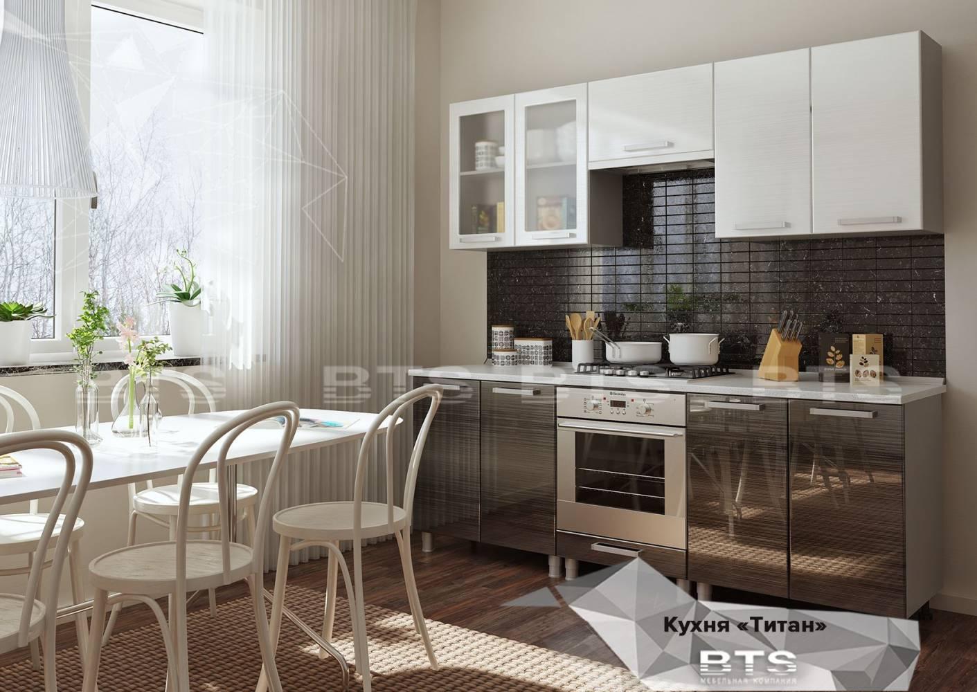 Кухонный гарнитур Титан. Вариант 3