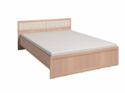 Кровать 1 Милана с ортоп. основанием 160*200 см