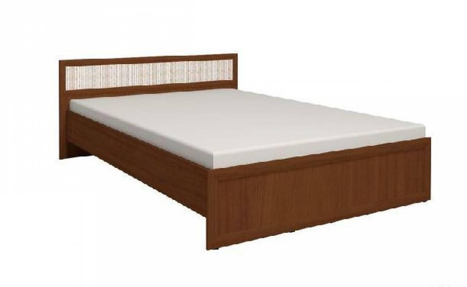 Кровать 4 Милана 90*200 см (Орех)