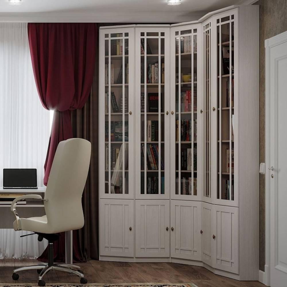 Sherlock 31 Шкаф для книг Ясень Анкор Светлый