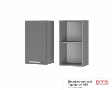 4В1 Шкаф настенный 1-дверный Эмили
