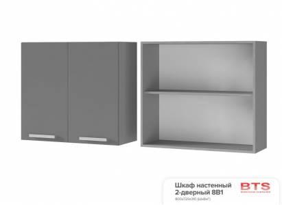 8В1 Шкаф настенный 2-дверный Монро