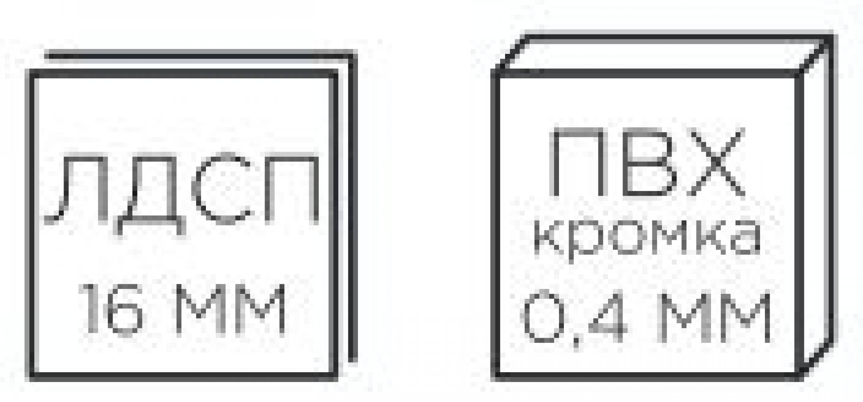 мод. 25 Шкаф 3-х створчатый Александрия