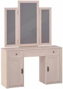 Стол туалетный 2 с зеркалом MONTPELLIER