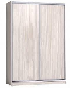 Шкаф-купе 1600 Домашний лдсп/лдсп + шлегель, Бодега Светлый