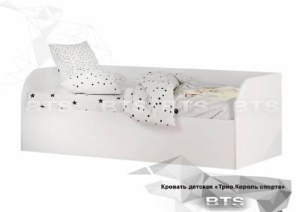 Трио Кровать детская (с подъёмным механизмом) КРП-01, белый