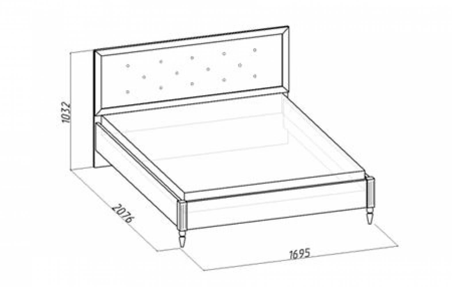 Кровать 2 на 160*200 MONTPELLIER