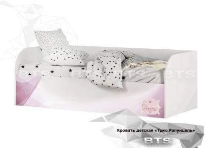 Трио Кровать детская (с подъёмным механизмом) КРП-01, Рапунцель