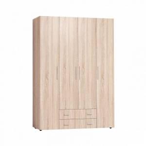 Монако 555 (спальня) Шкаф для одежды и белья Стандарт (Дуб Сонома)