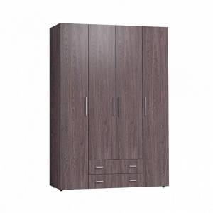 Монако 555 (спальня) Шкаф для одежды и белья Стандарт (Ясень Анкор темный)