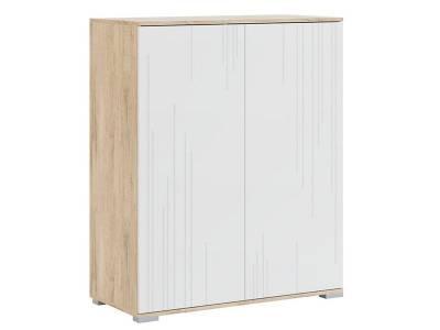 Лайн мод № 4 шкаф комбинированный, Ватервуд