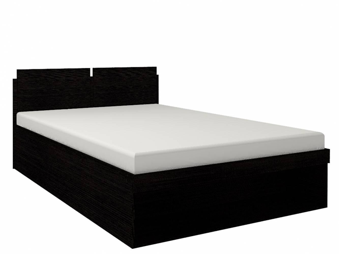Кровать2 Hyper 160*200 с подъемным механизмом (Венге монохром)