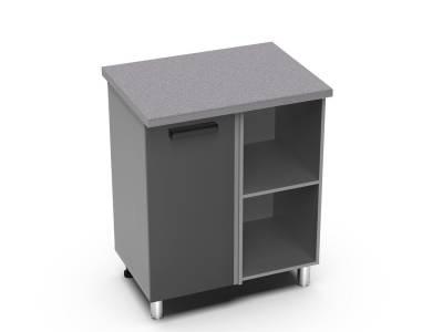 ШНУ 1000 к прямому углу кухни (к столешнице 1000 мм) Крафт