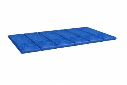 Подушка 1 Калейдоскоп Синяя