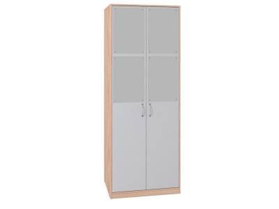 Шкаф для одежды 2 Калейдоскоп Серый