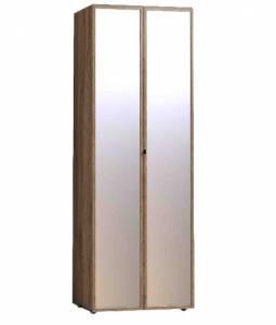 Nature 54 (спальня) Шкаф для одежды корпус+2 фасада Зеркало контур