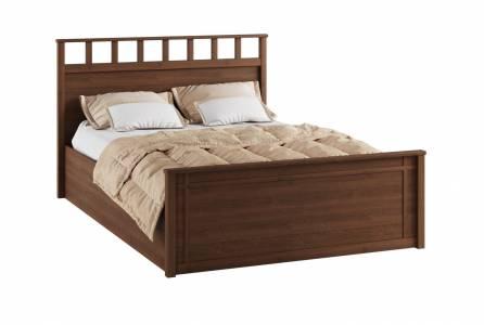 Корпус кровати 1,4 м РКР-1 Ричард, орех донской
