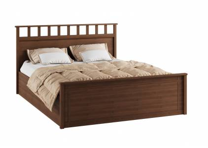 Корпус кровати 1,6 м РКР-1 Ричард, орех донской