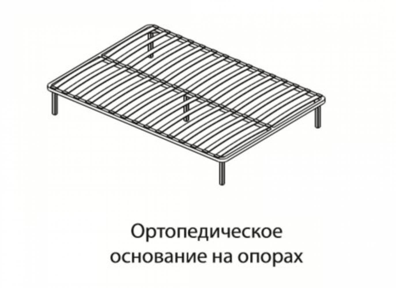 Основание для кроватей 1,4 ортопед на опорах
