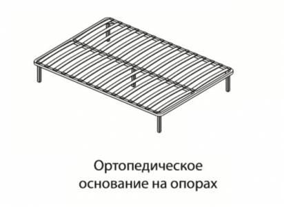 Основание для кроватей 1,6 ортопед на опорах