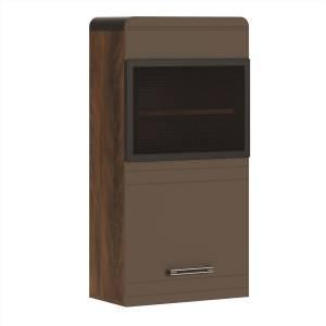 Браун мод № 3 шкаф навесной вертикальный