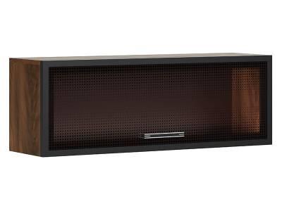 Браун мод № 4 шкаф навесной с подсветкой