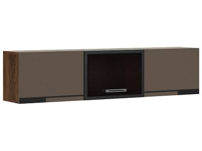 Браун мод № 5 шкаф навесной горизонтальный