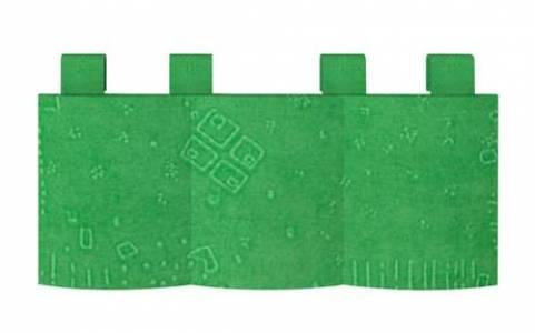 Карман 1 Калейдоскоп Зеленый