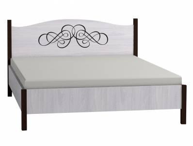 ADELE2 Кровать 160*200 без основания, без матраса, ясень анкор светлый