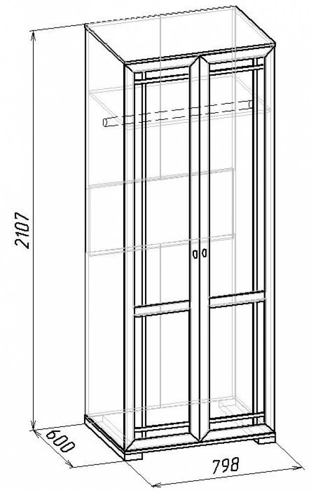 Sherlock12  Шкаф для одежды