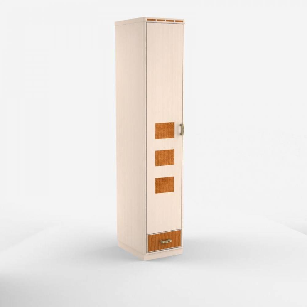 Шкаф для платья и белья 1-створч. без зеркала Кэри Голд