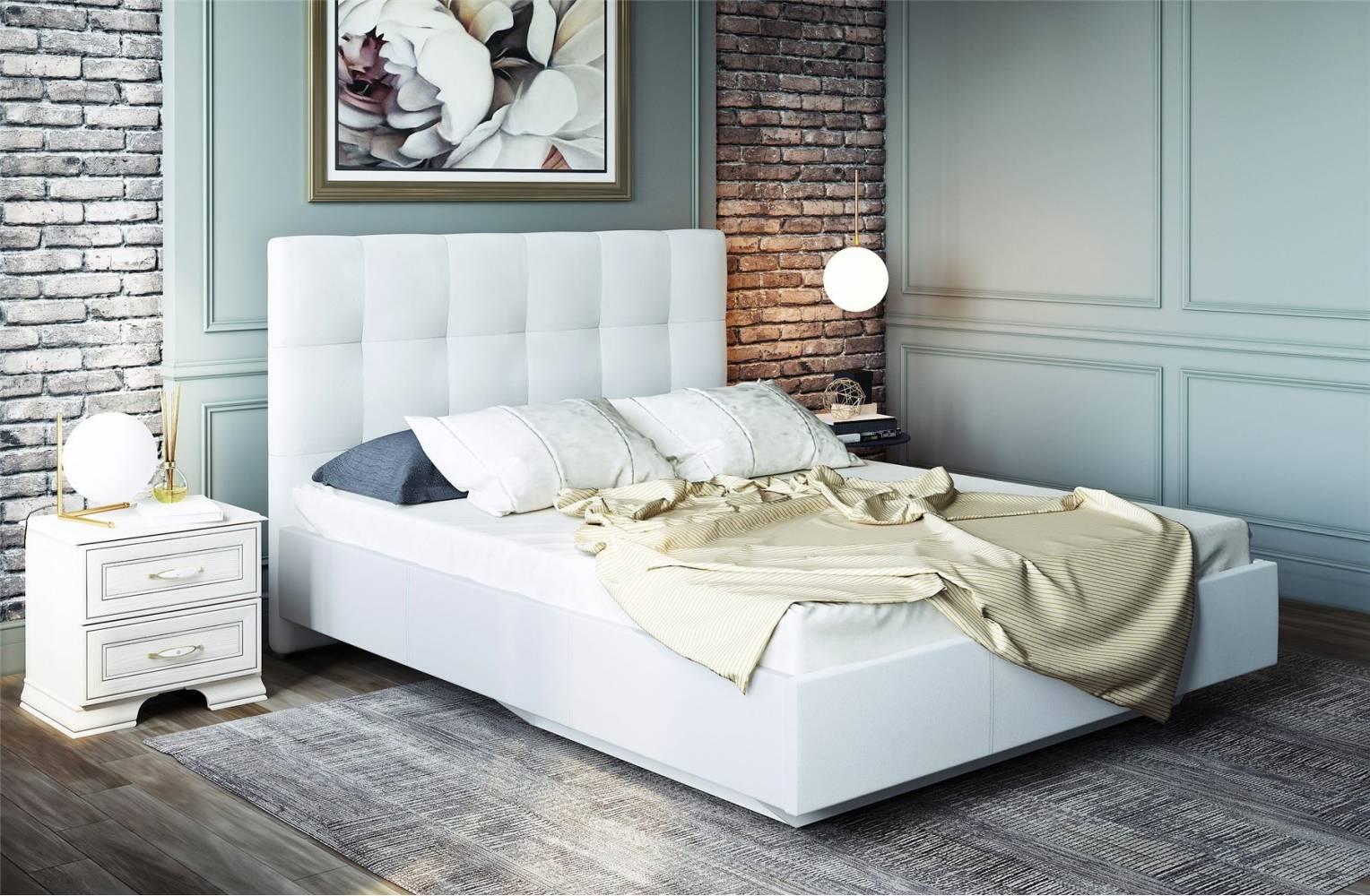 Сонум Кровать 1800 латы (Найс Вайт)