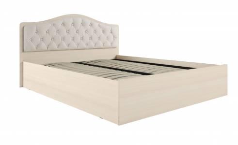 Кровать Дели каркас (1,6) велюр карамель