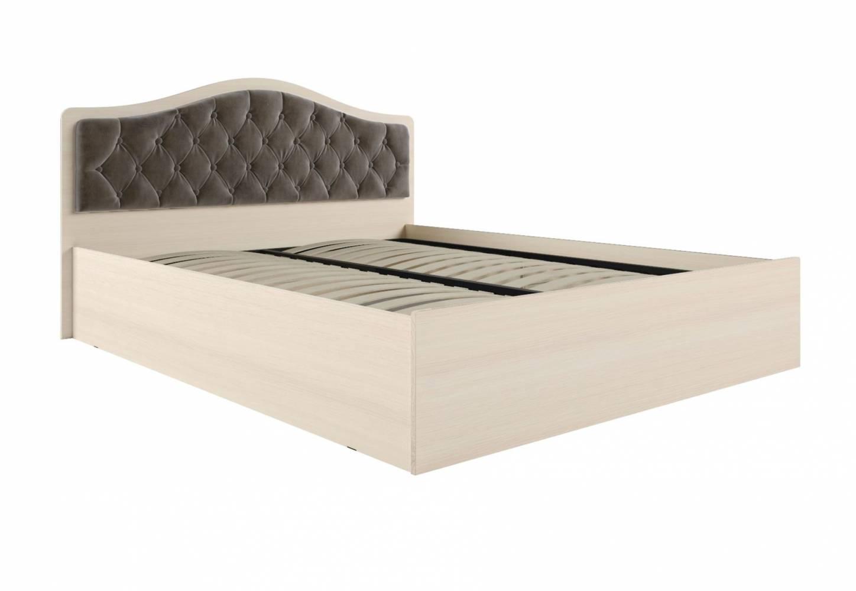 Кровать Дели каркас (1,6) велюр шоколад