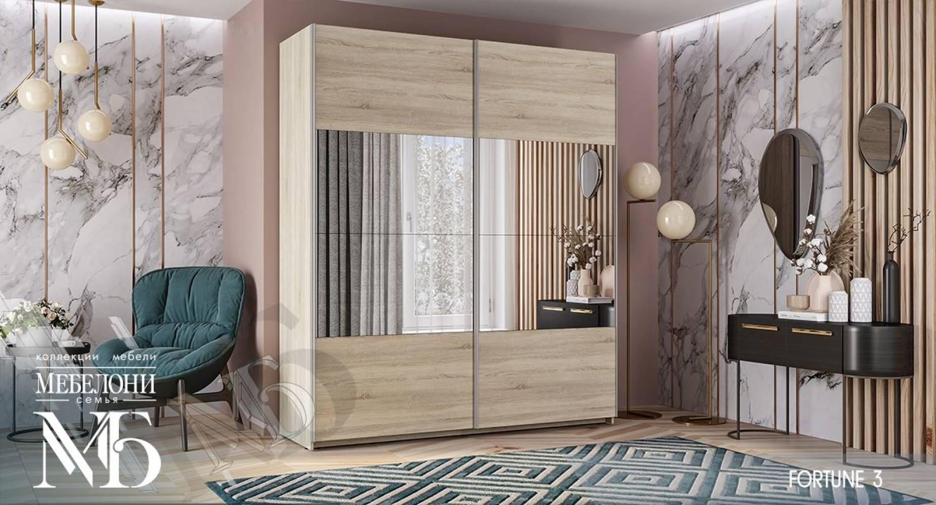 Шкаф Фортуна-3 (1800) 400/600/800