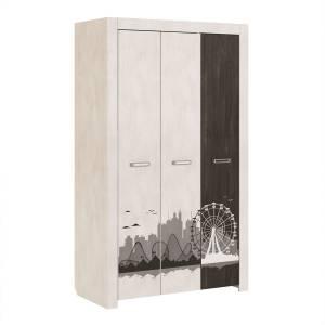 Фест мод. 11 шкаф трехдверный