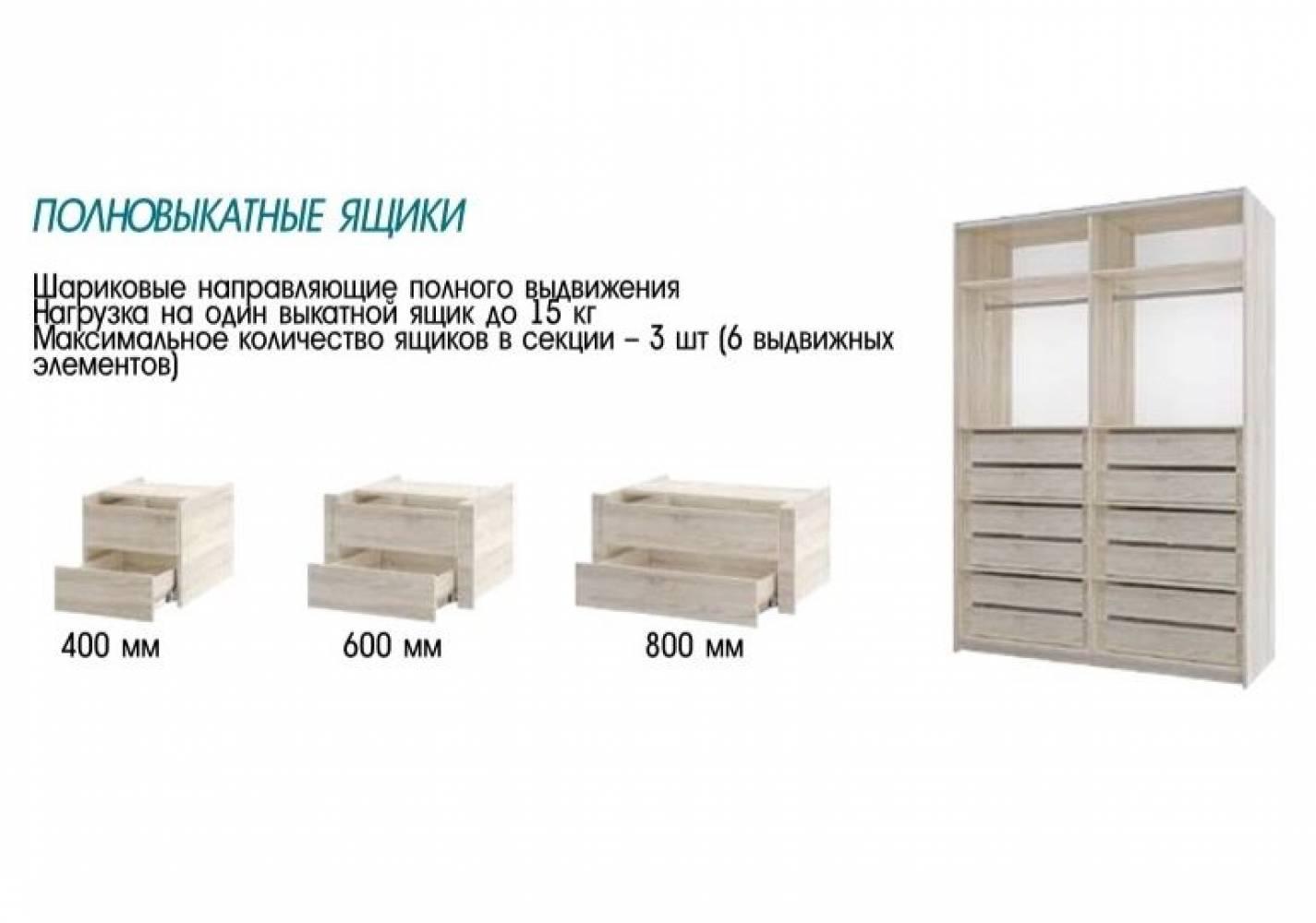 Шкаф Фортуна-7 (2200) 400/600/600/600