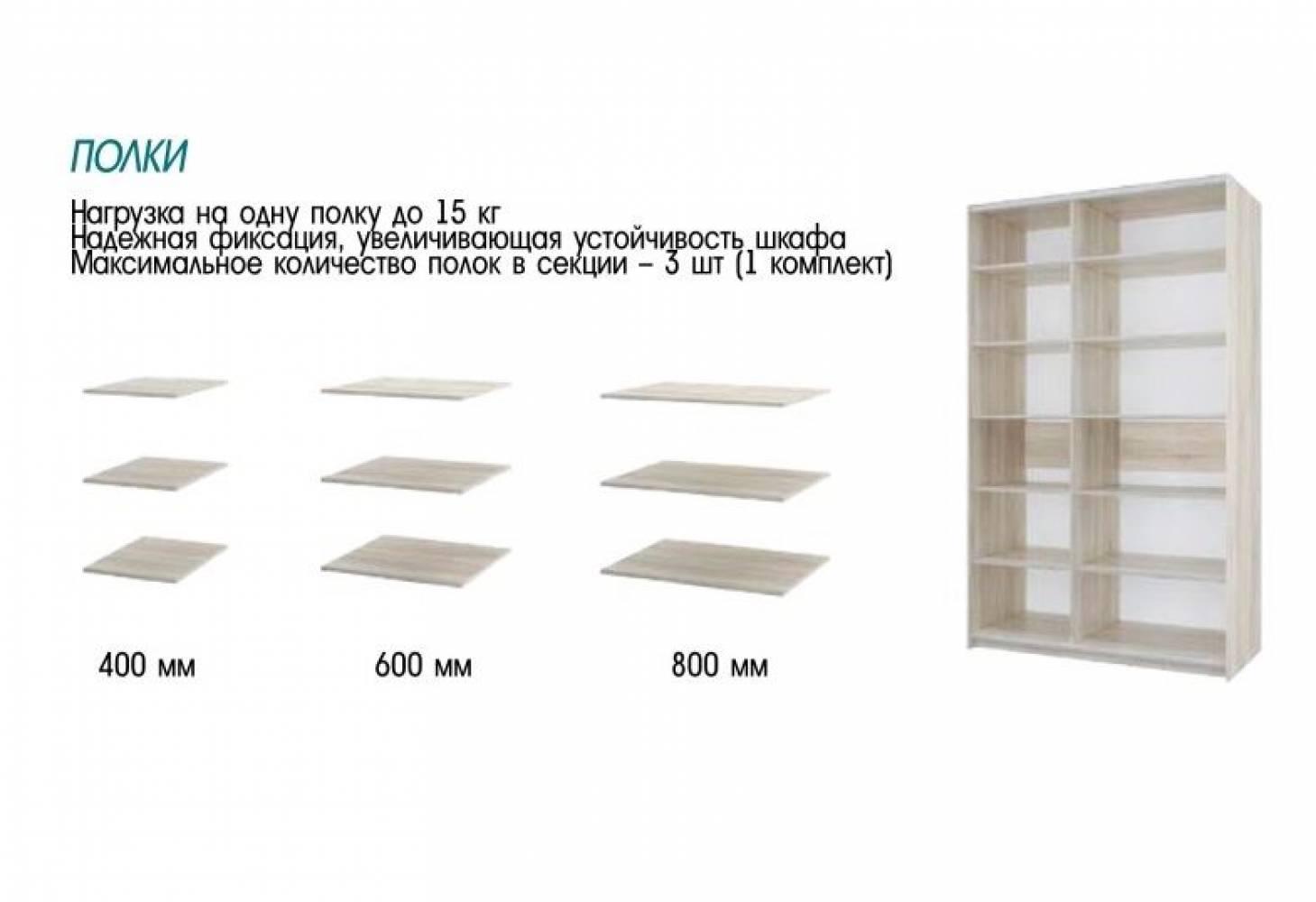 Шкаф Фортуна-7 (2400) 400/600/600/800